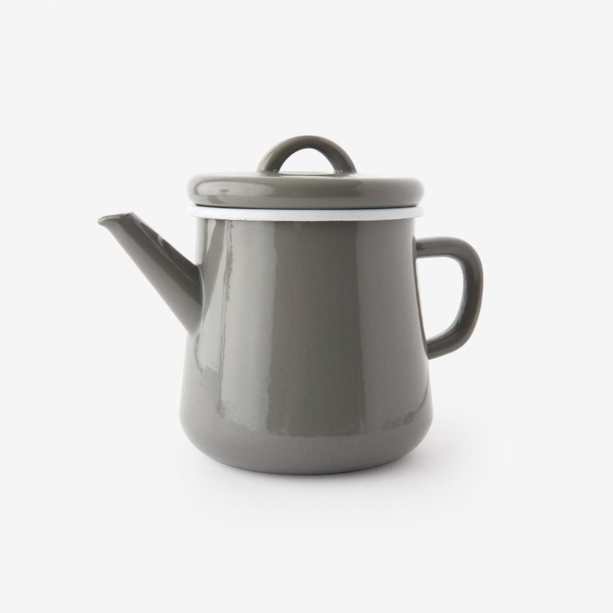 Šedá čajová konvice