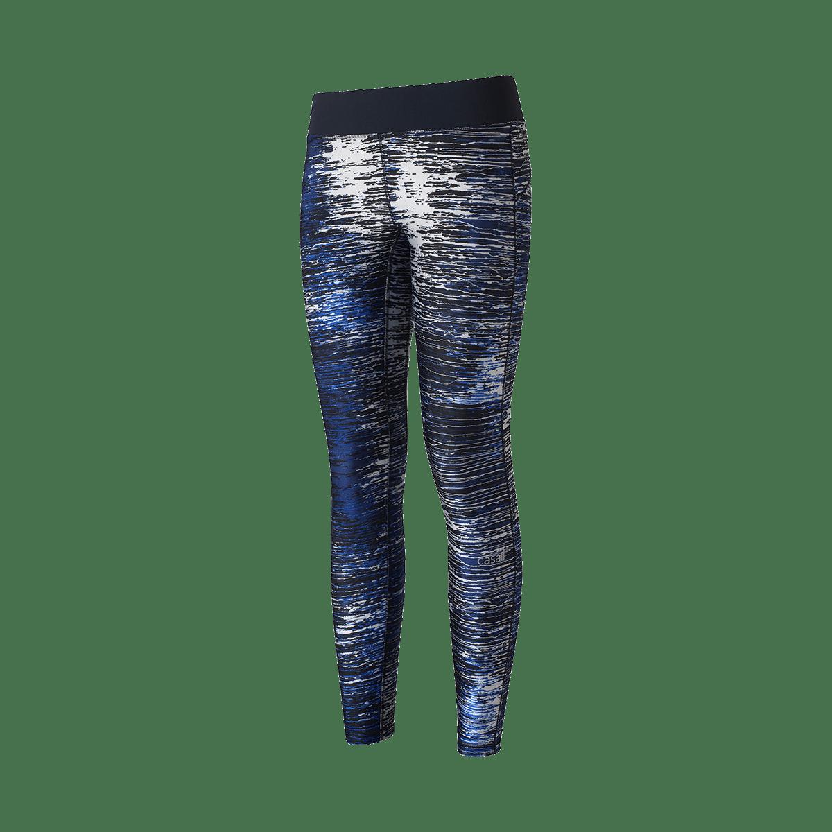 Modré žíhané sportovní 7 8 legíny – 36 bf0f65113c