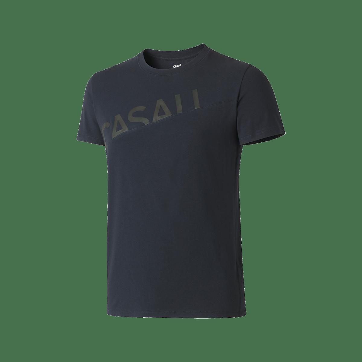 Tmavě modré sportovní tričko - S
