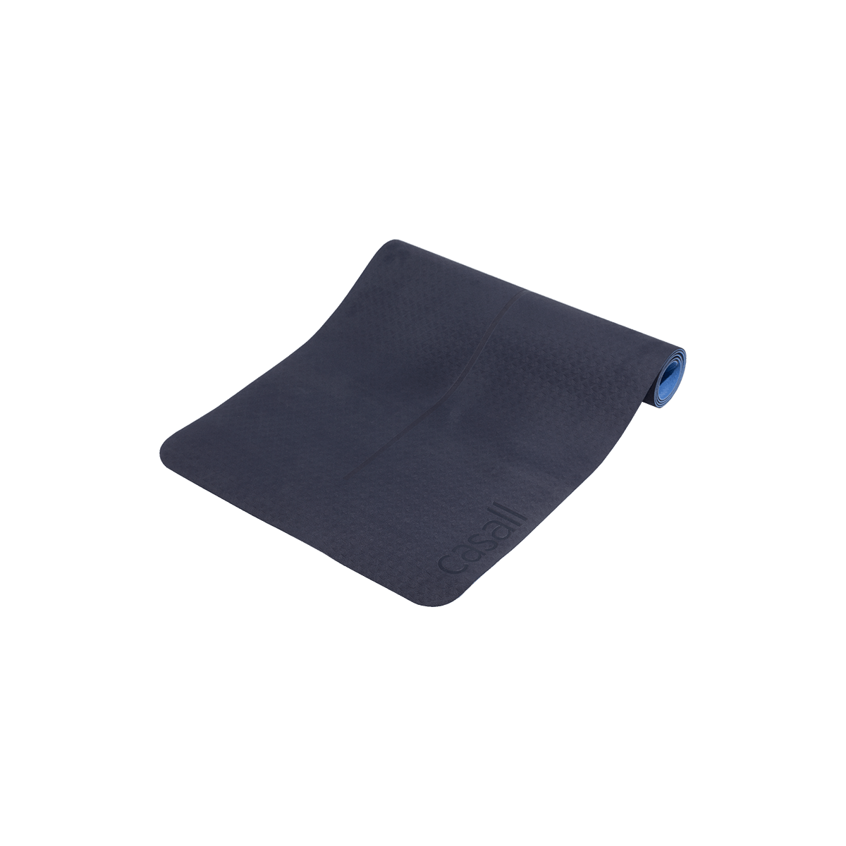 Podložka na jógu 4 mm - modrá