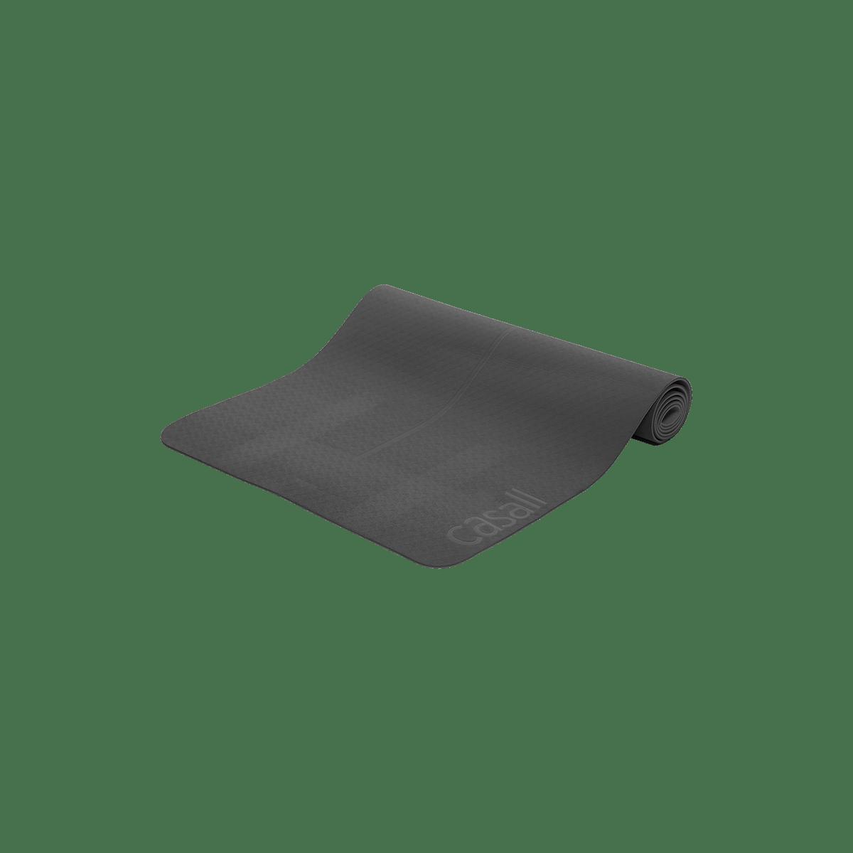 Podložka na jógu 4 mm - černá