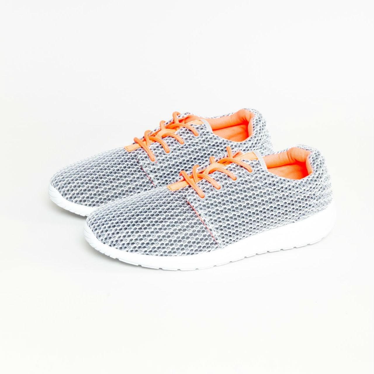 Šedé sportovní boty - 36