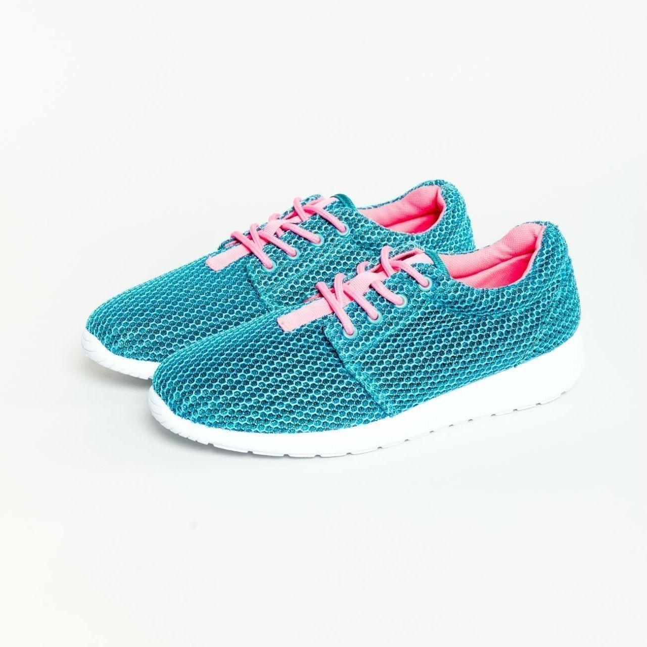 Modré sportovní boty - 36