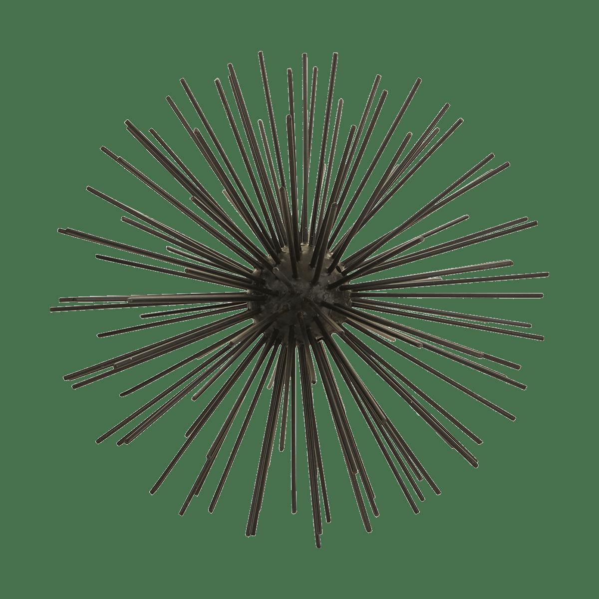 Černá dekorační koule Ø23 cm