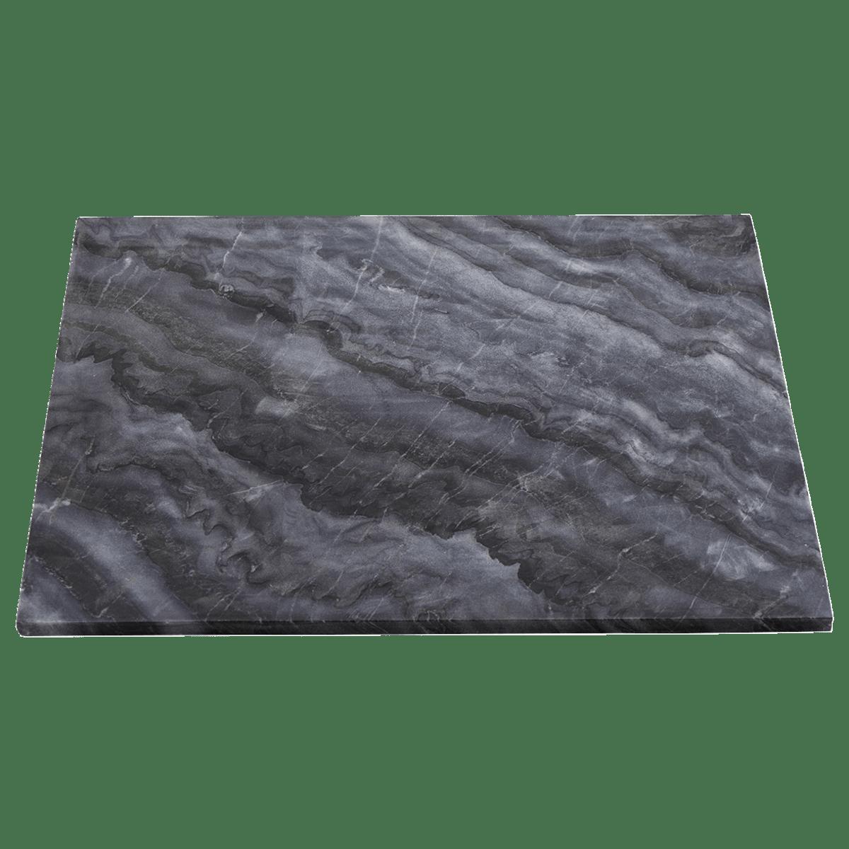 Šedá mramorová deska na stůl Marble