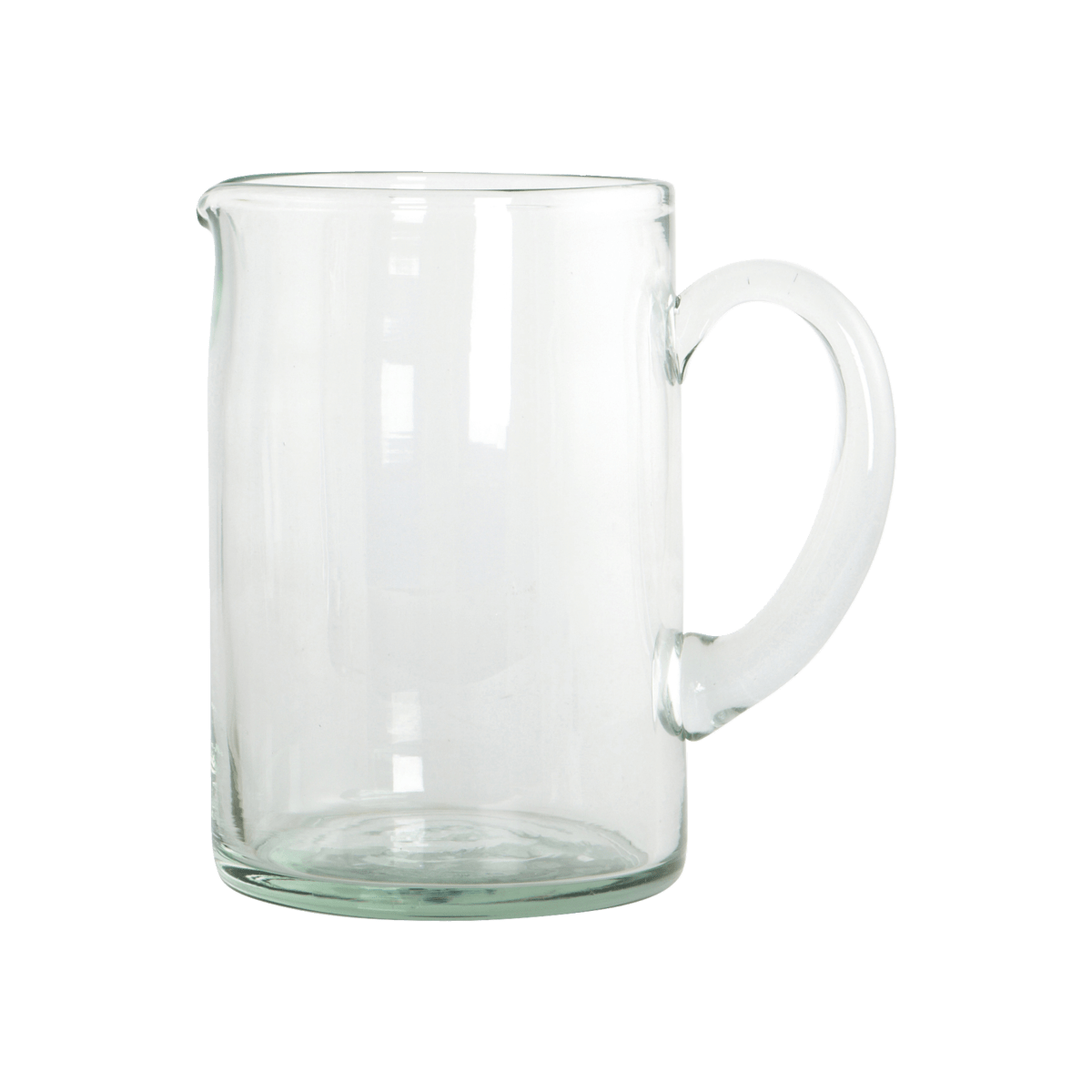Skleněný džbánek H2O