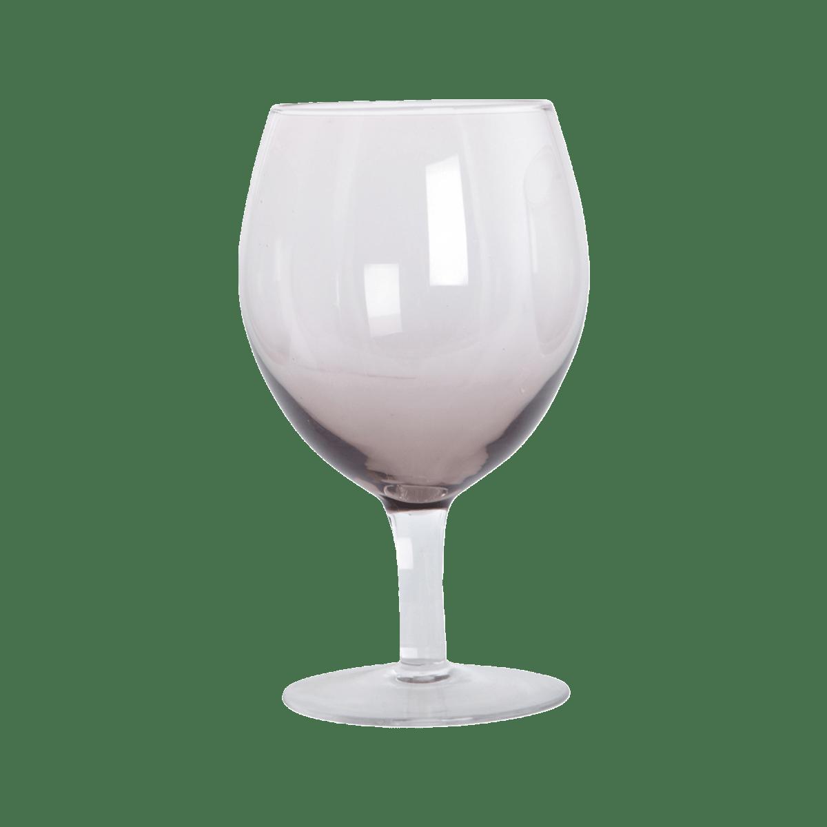Purpurová sklenička na víno Ball