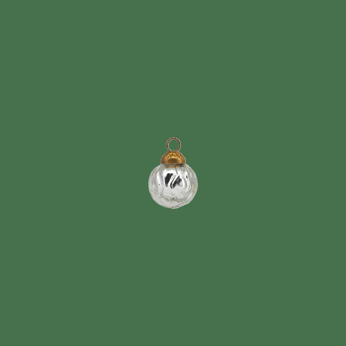 Stříbrná ozdobná baňka Thiny