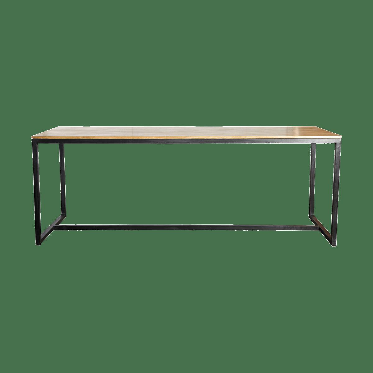 Stůl s dřevěnou deskou Form