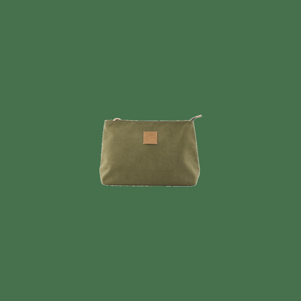 Zelená kosmetická taštička