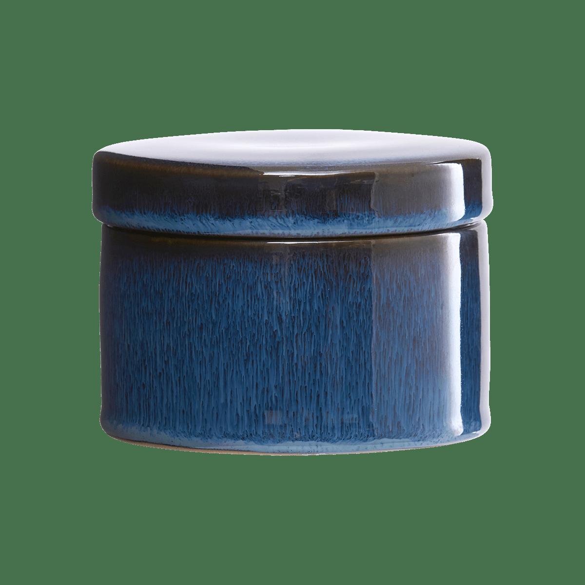 Sada 4 ks − Tmavě modrá dóza s víkem Croz