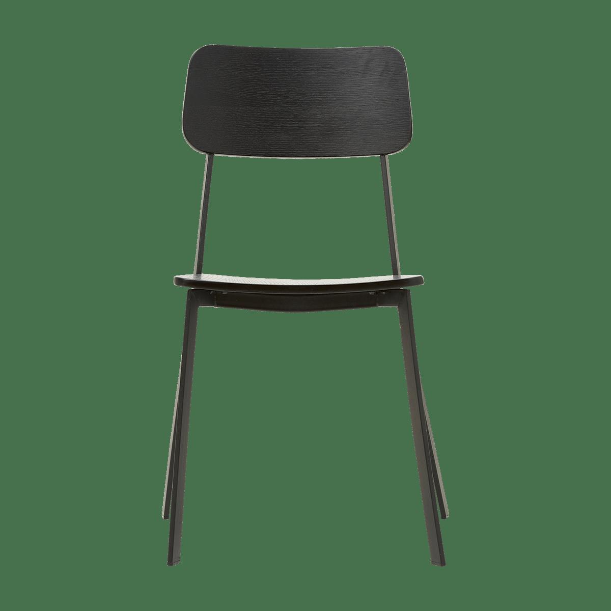 Černá židle Ace