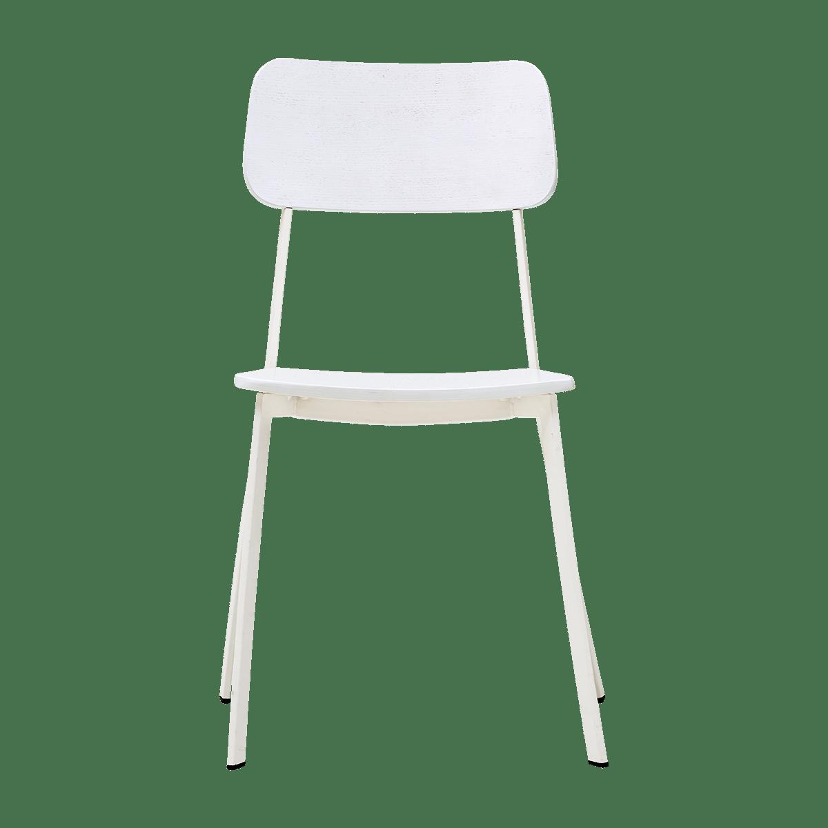 Bílá židle Ace