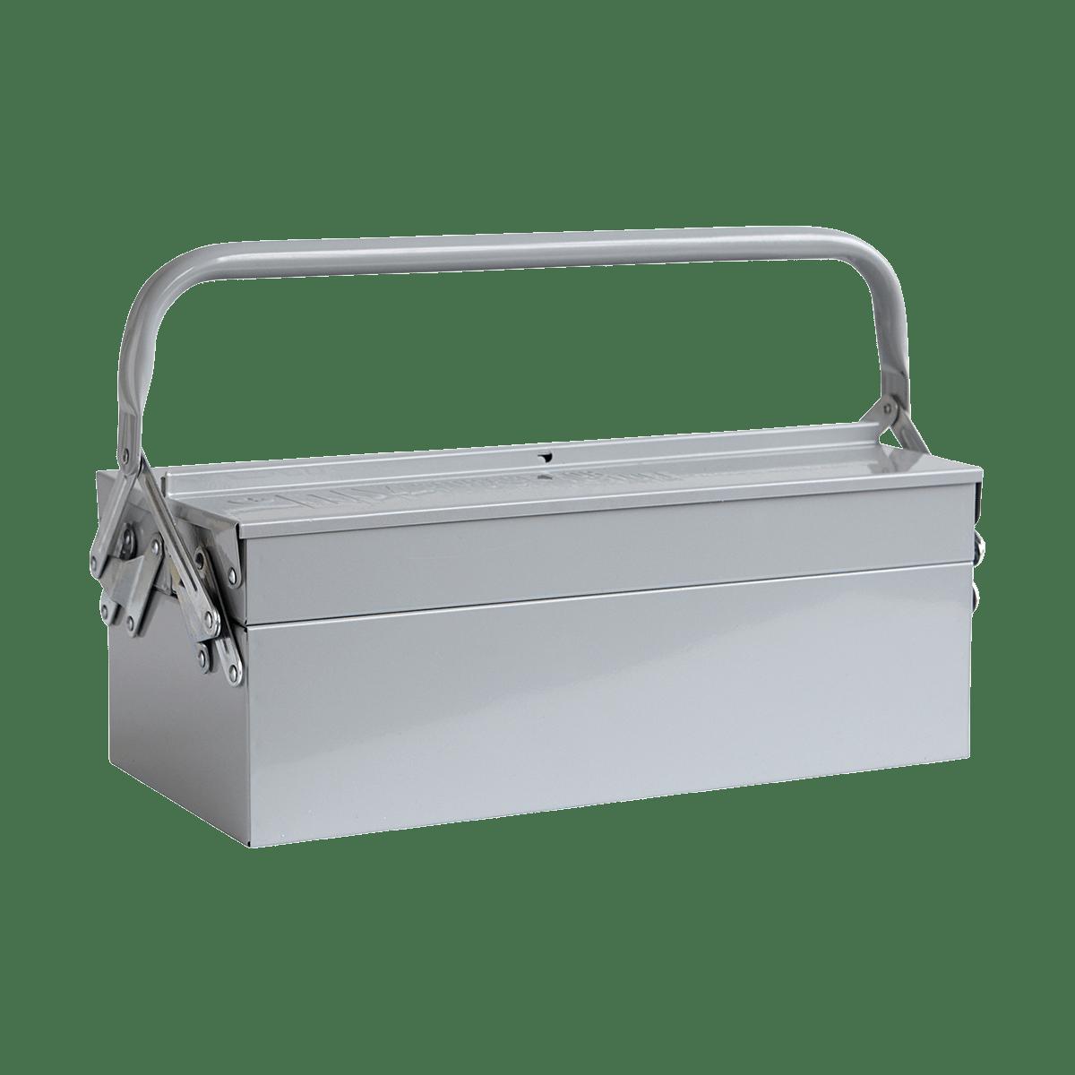 Šedý box na nářadí Tool