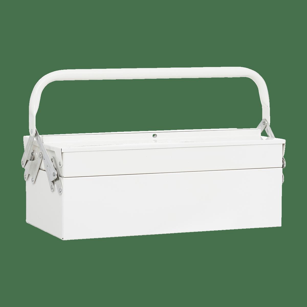 Bílý box na nářadí Tool