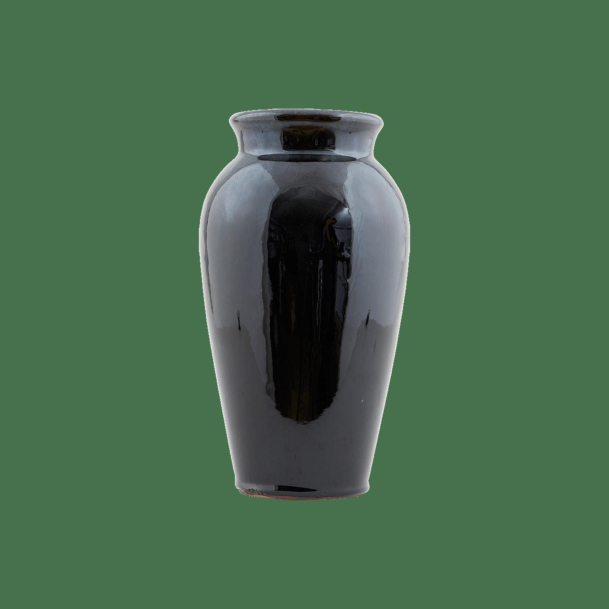 Černá váza Antique malá
