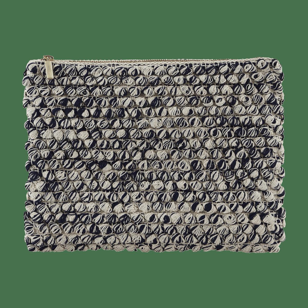 Černobílá kosmetická taštička Tofted