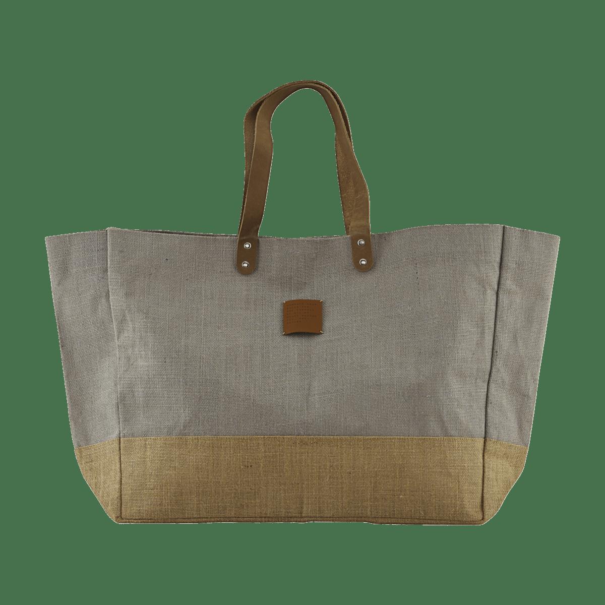 Sada 2 ks − Šedá nákupní taška Carrie
