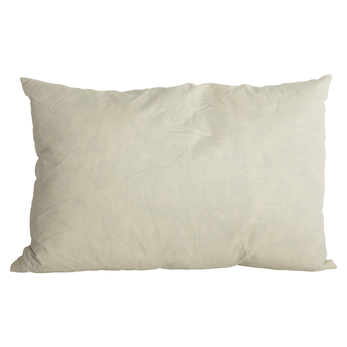 Bílý polštář 30x50 cm