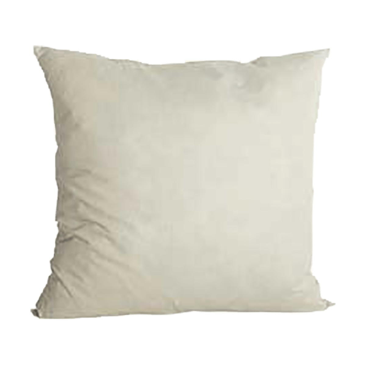 Bílý polštář 40x40 cm