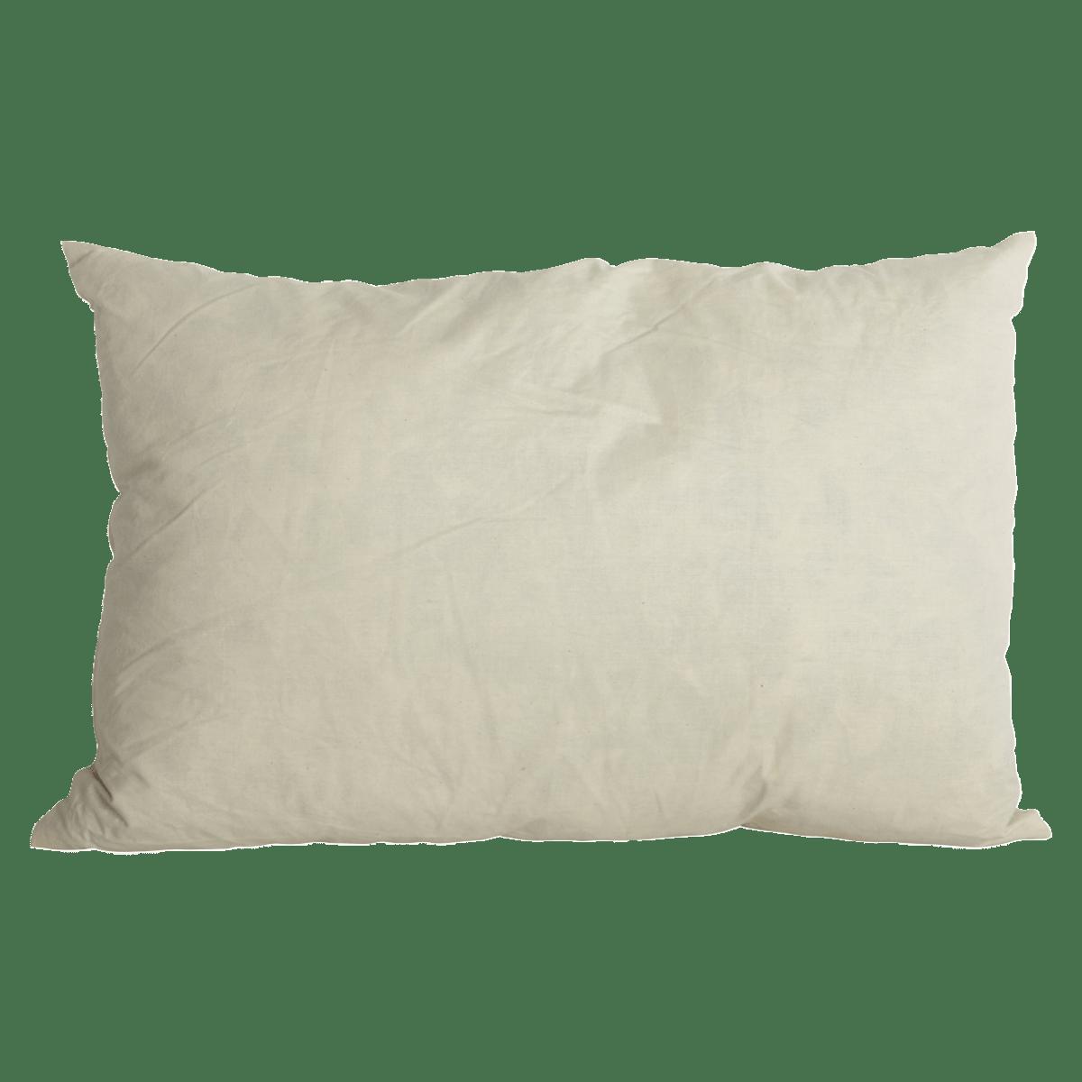 Bílý polštář 40x60 cm