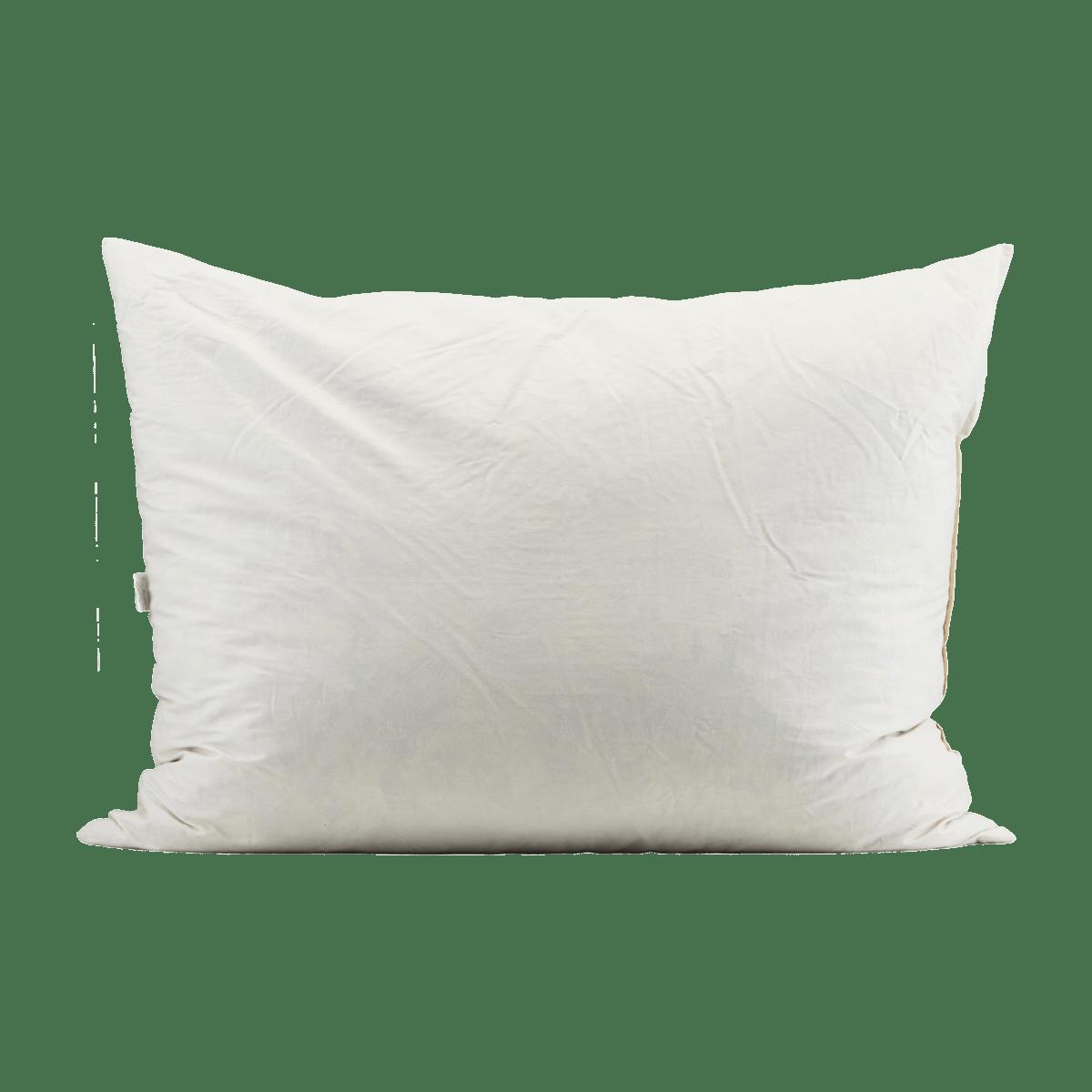 Bílý polštář 50x70 cm