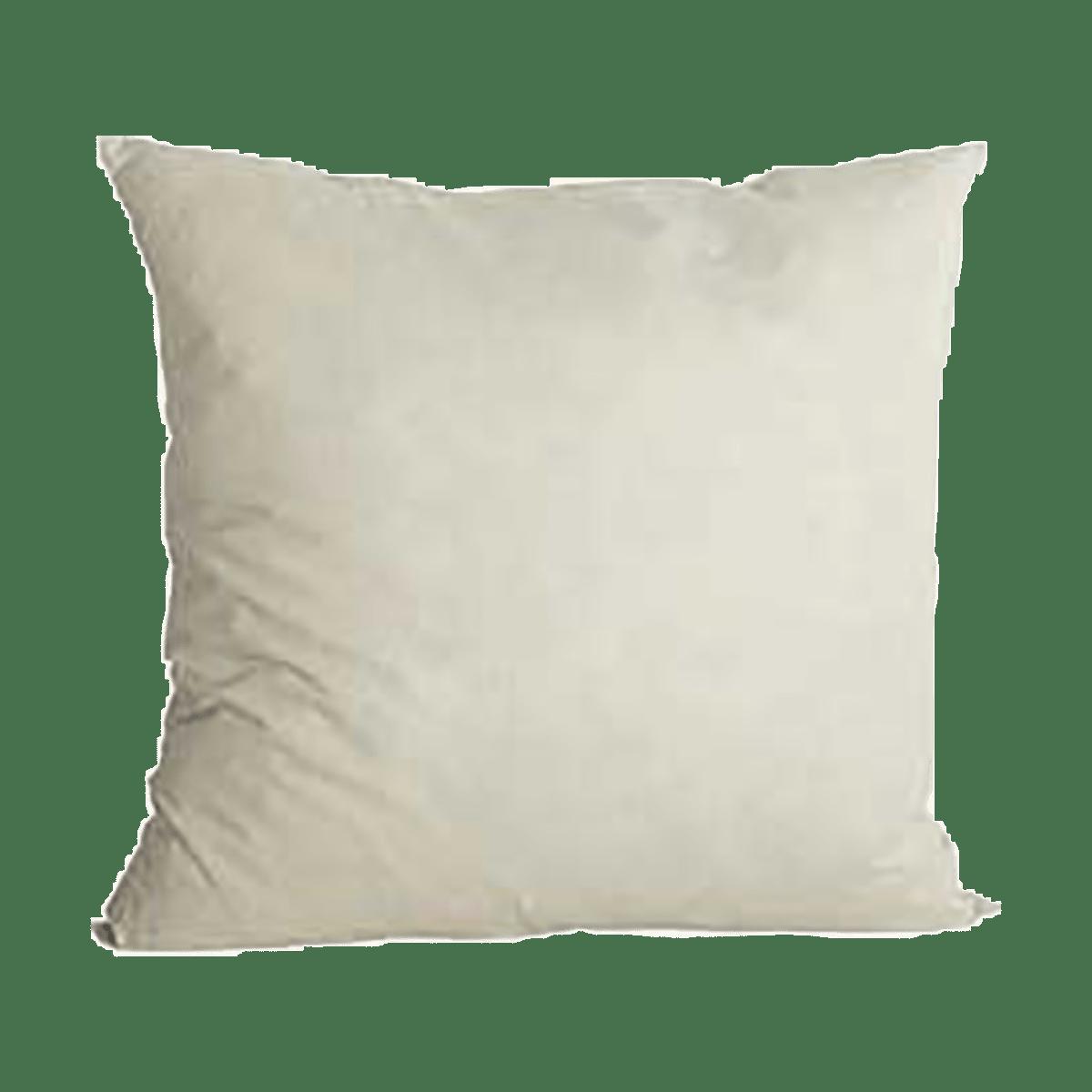 Bílý polštář 50x50 cm