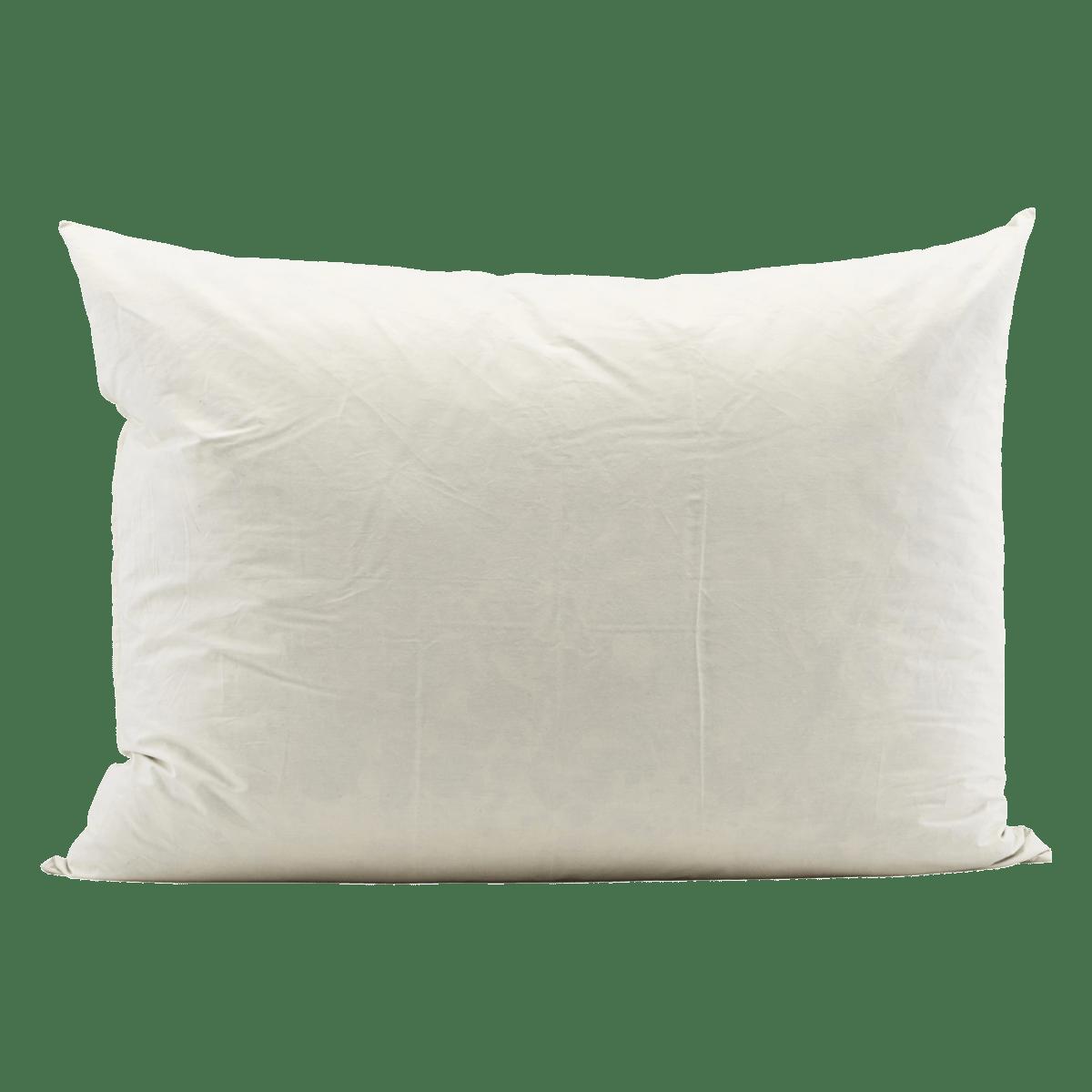 Bílý polštář 60x80 cm