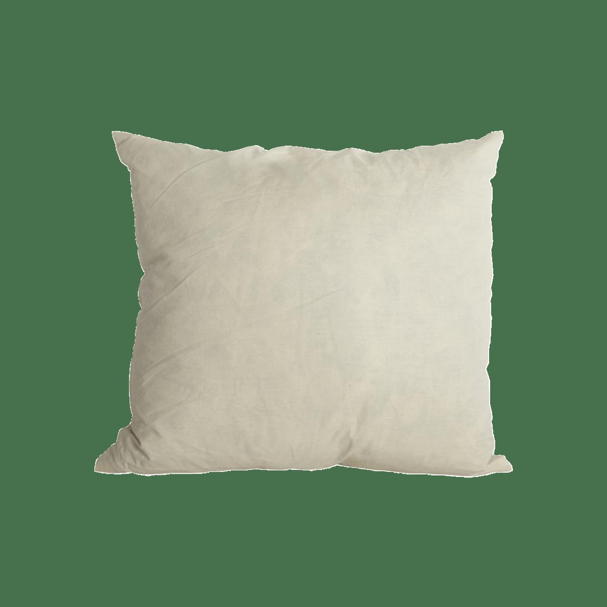 Bílý polštář 80x80 cm