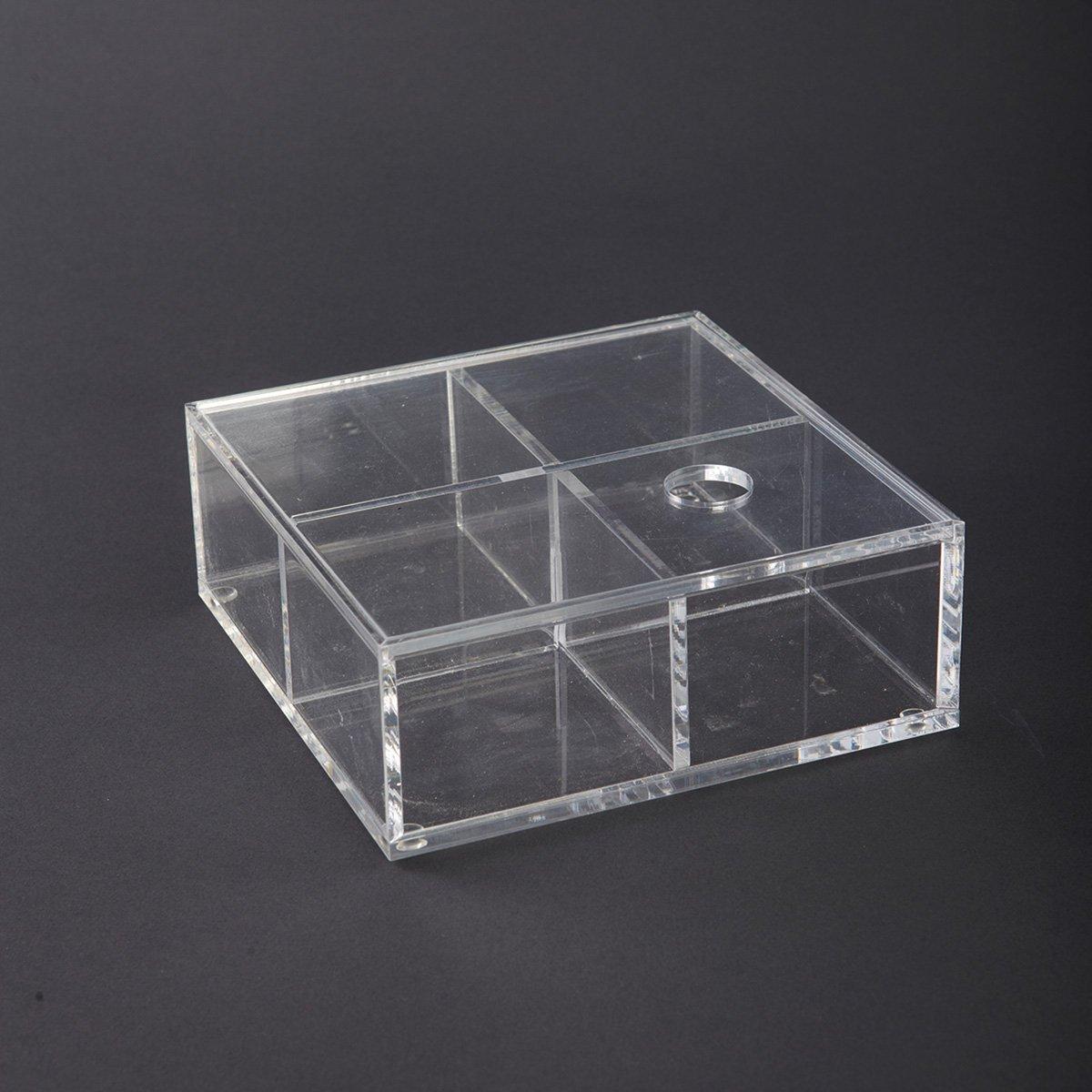 Průhledná krabice s víkem