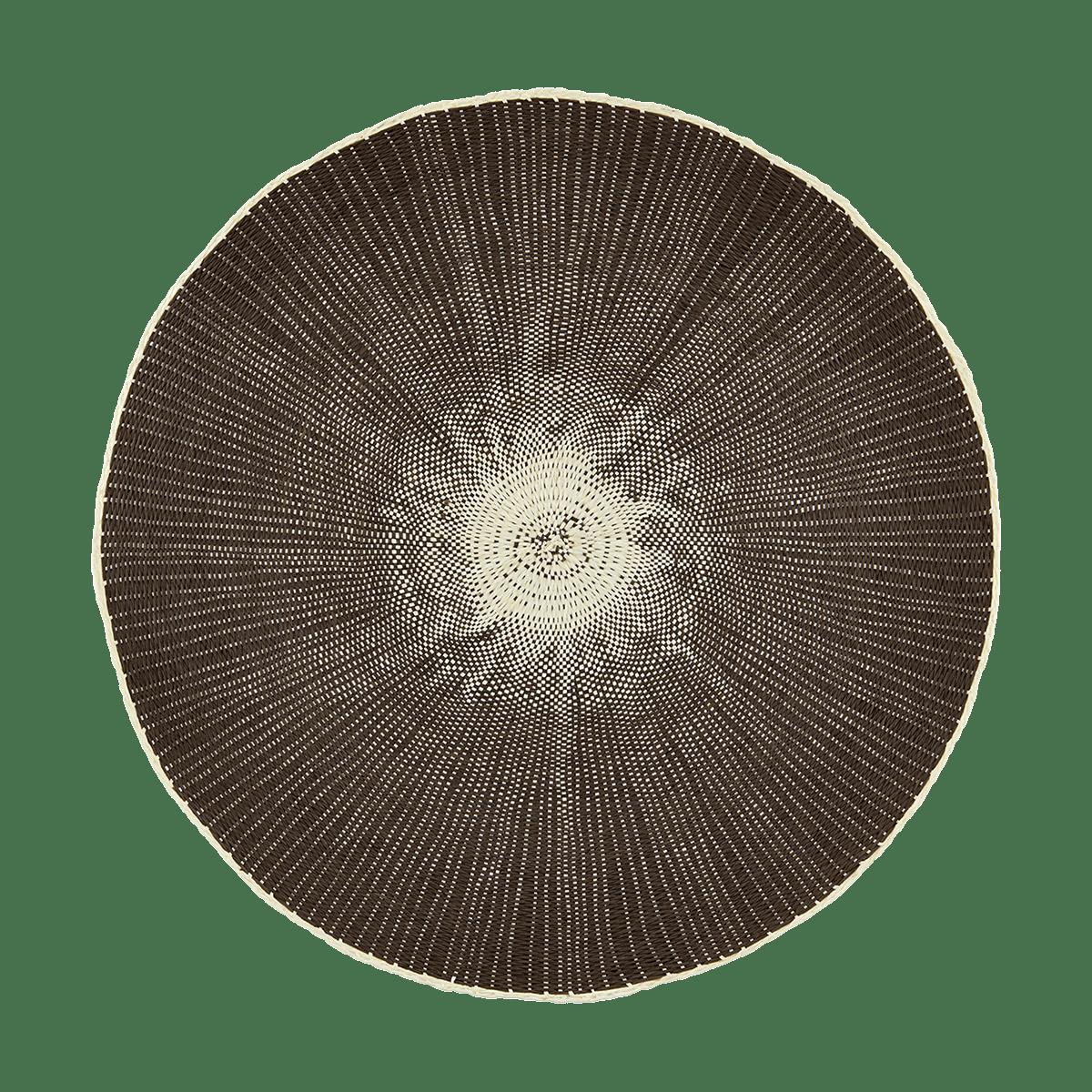 Šedohnědé prostírání Circle