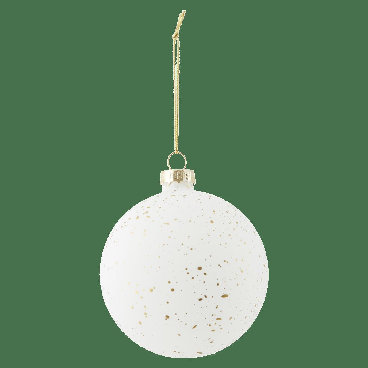 Bílozlatá dekorace Gold Sprinkle