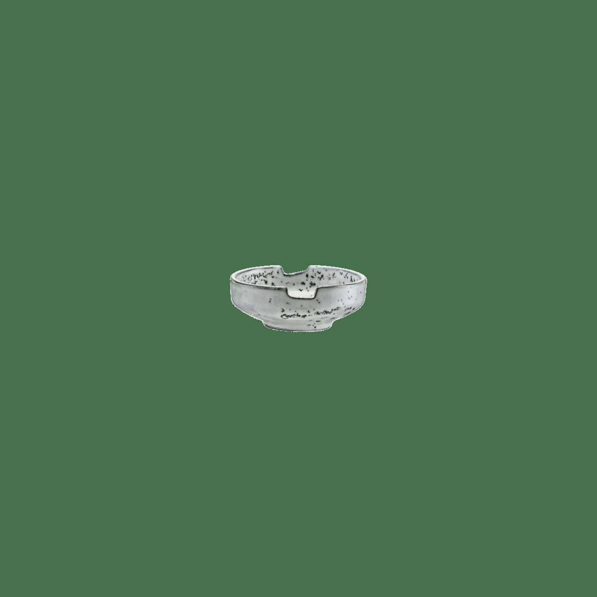 Šedomodrá miska na sóju Rustic