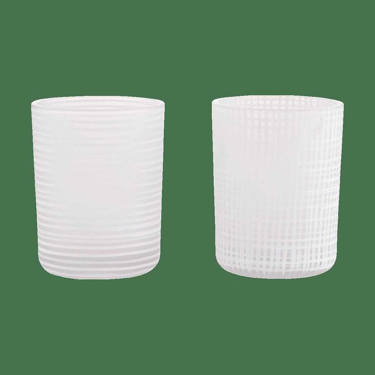 Bílý stojan na čajové svíčky Style
