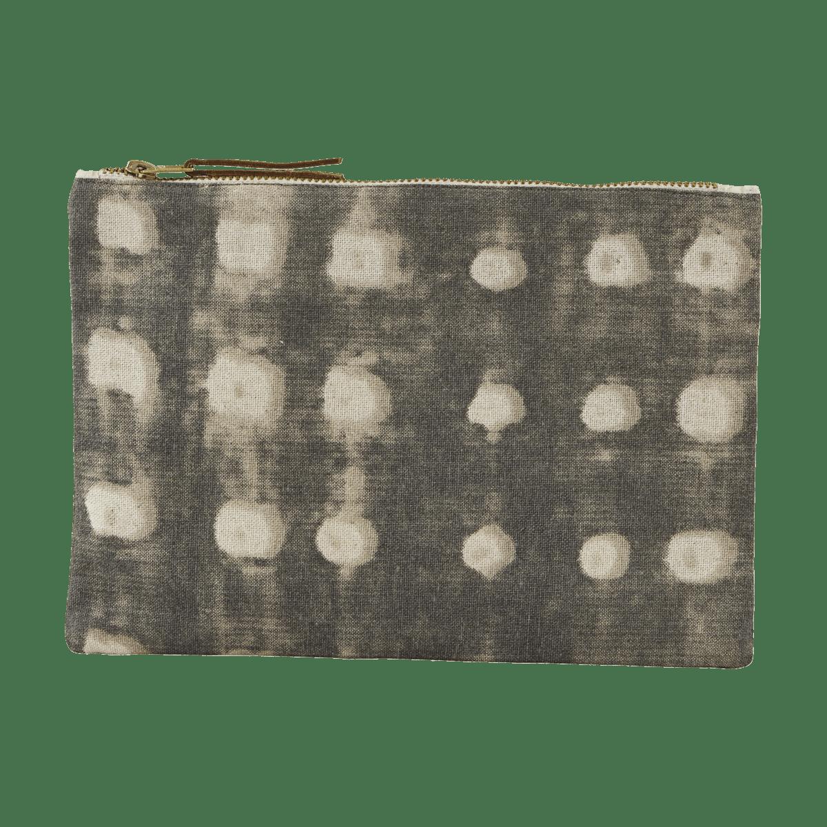 Šedá kosmetická taštička Batik