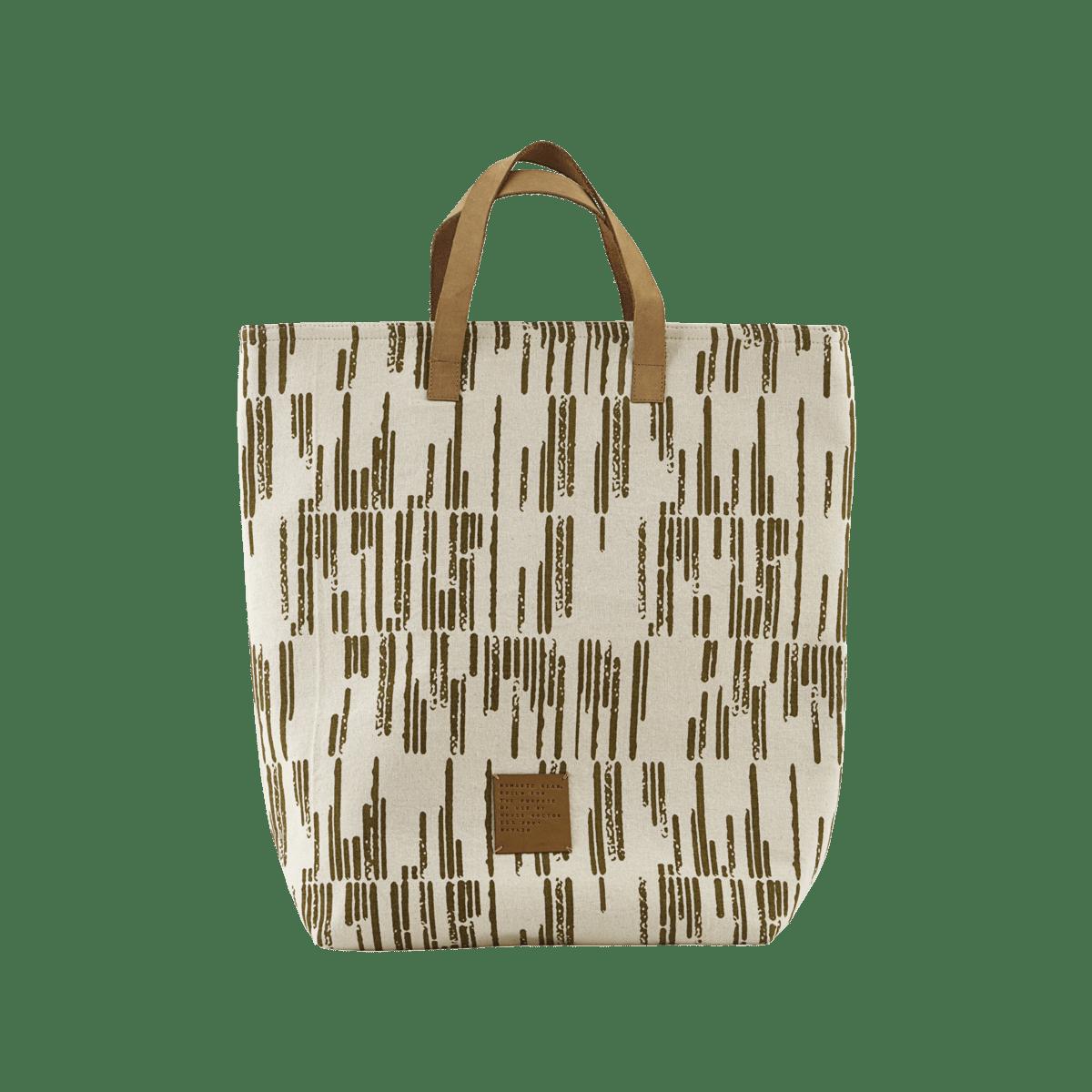 Modrá nákupní taška Batik