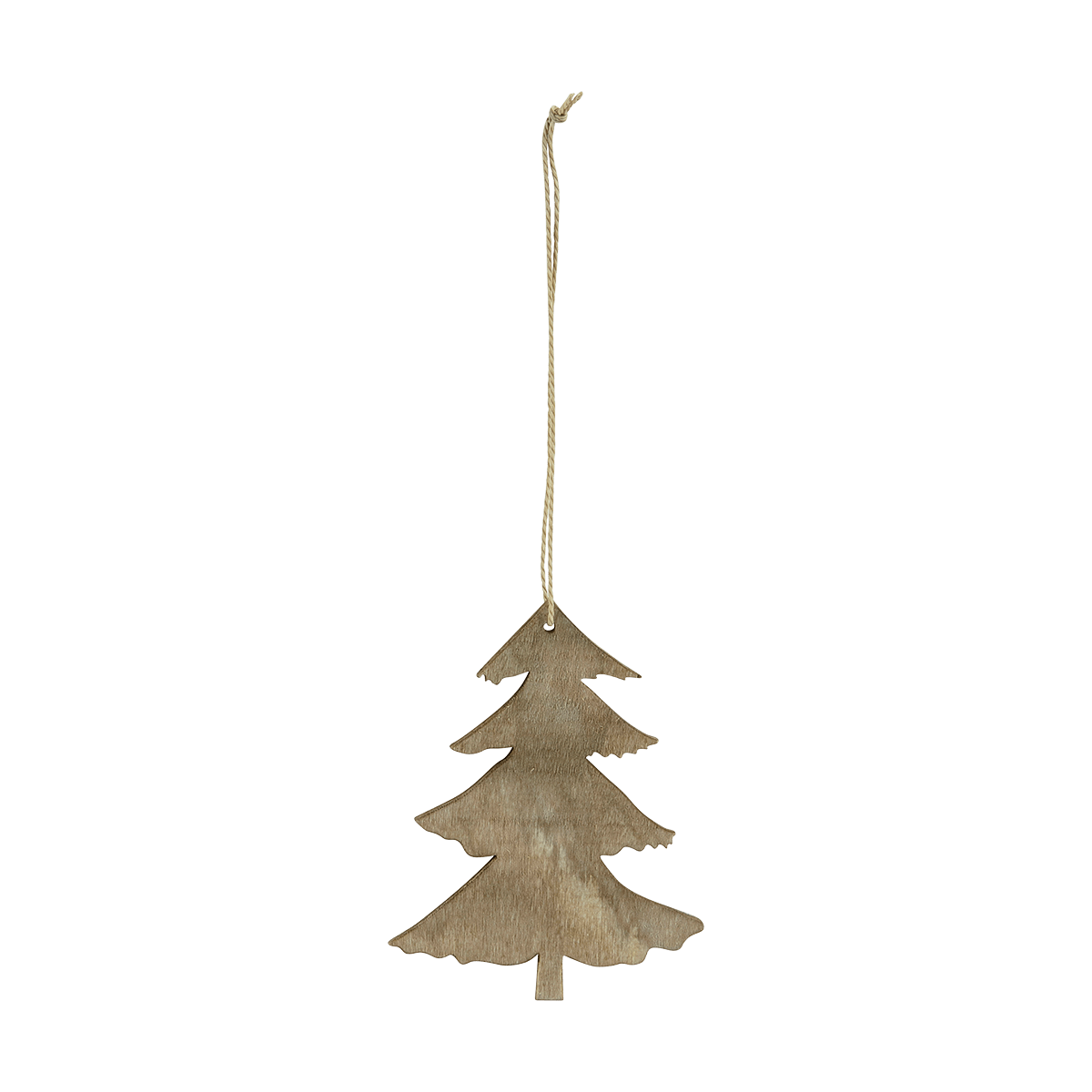 Hnědý ozdobný stromeček malý