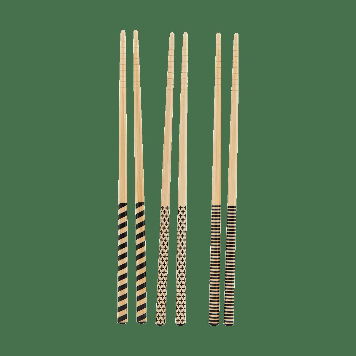 Jídelní hůlky 3D