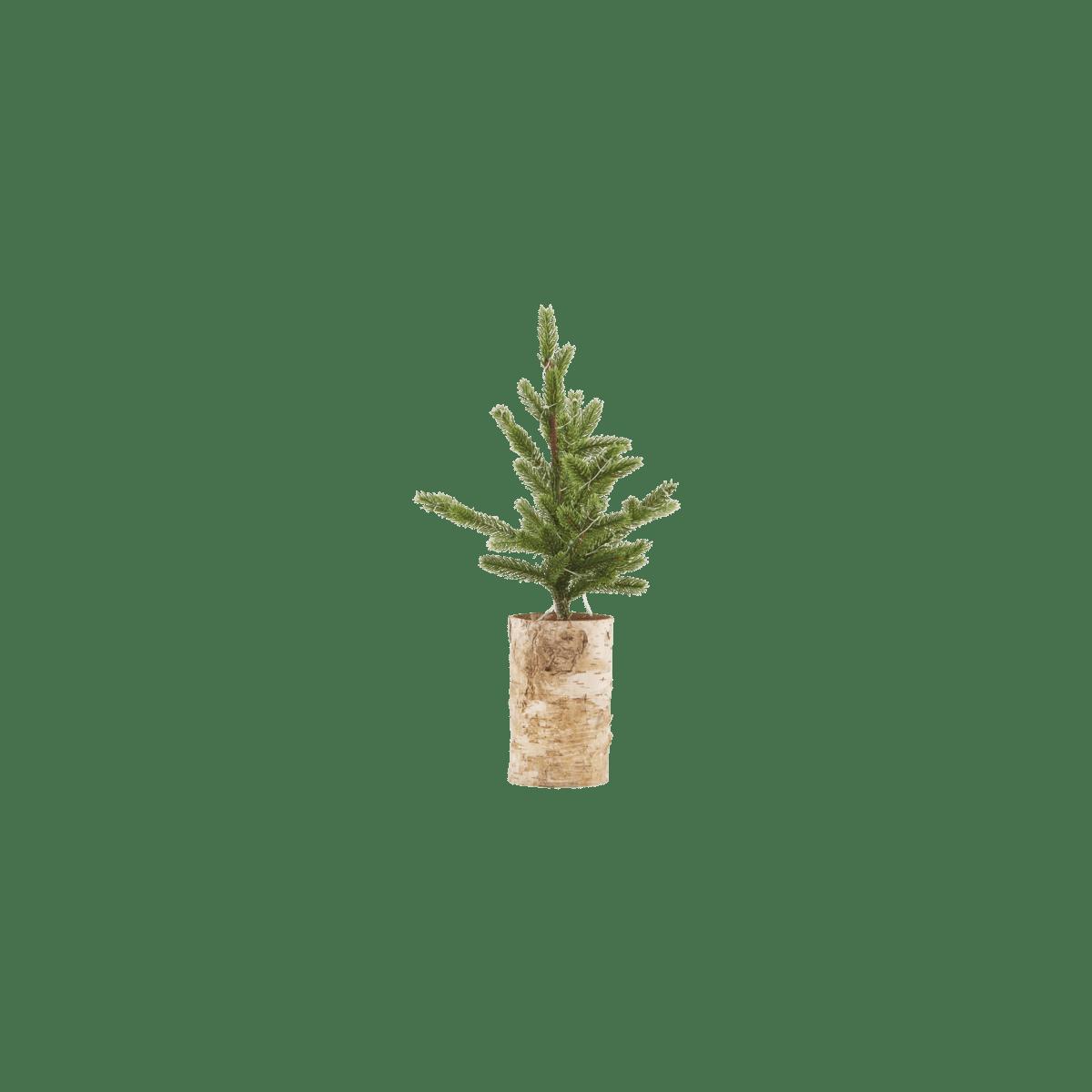 Vánoční stromek se světýlky Wooden Base stolu malý