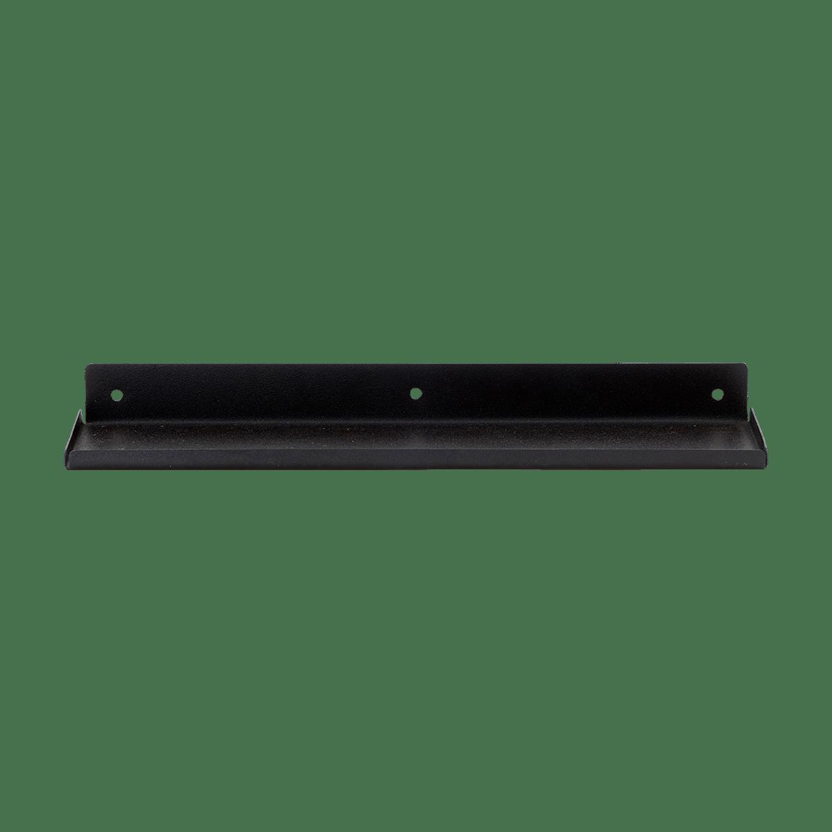 Sada 2 ks − Černá polička Ledge