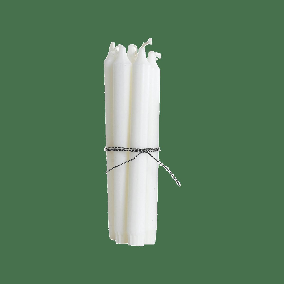 Bílé svíčky