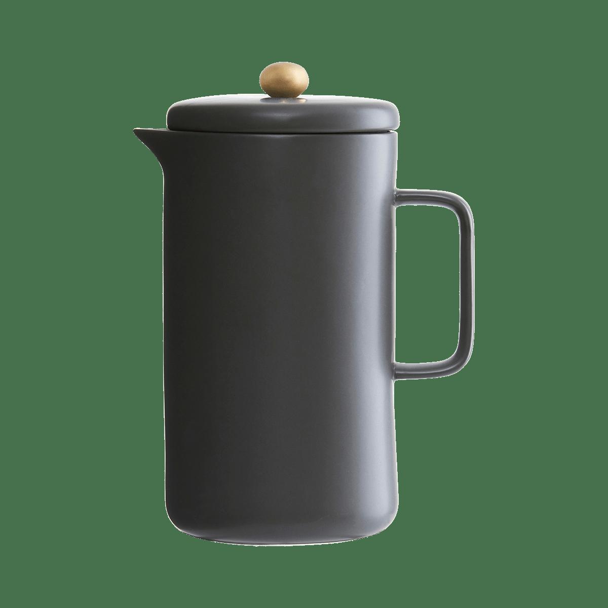 Sada 2 ks − Černá konvice na kávu Pot