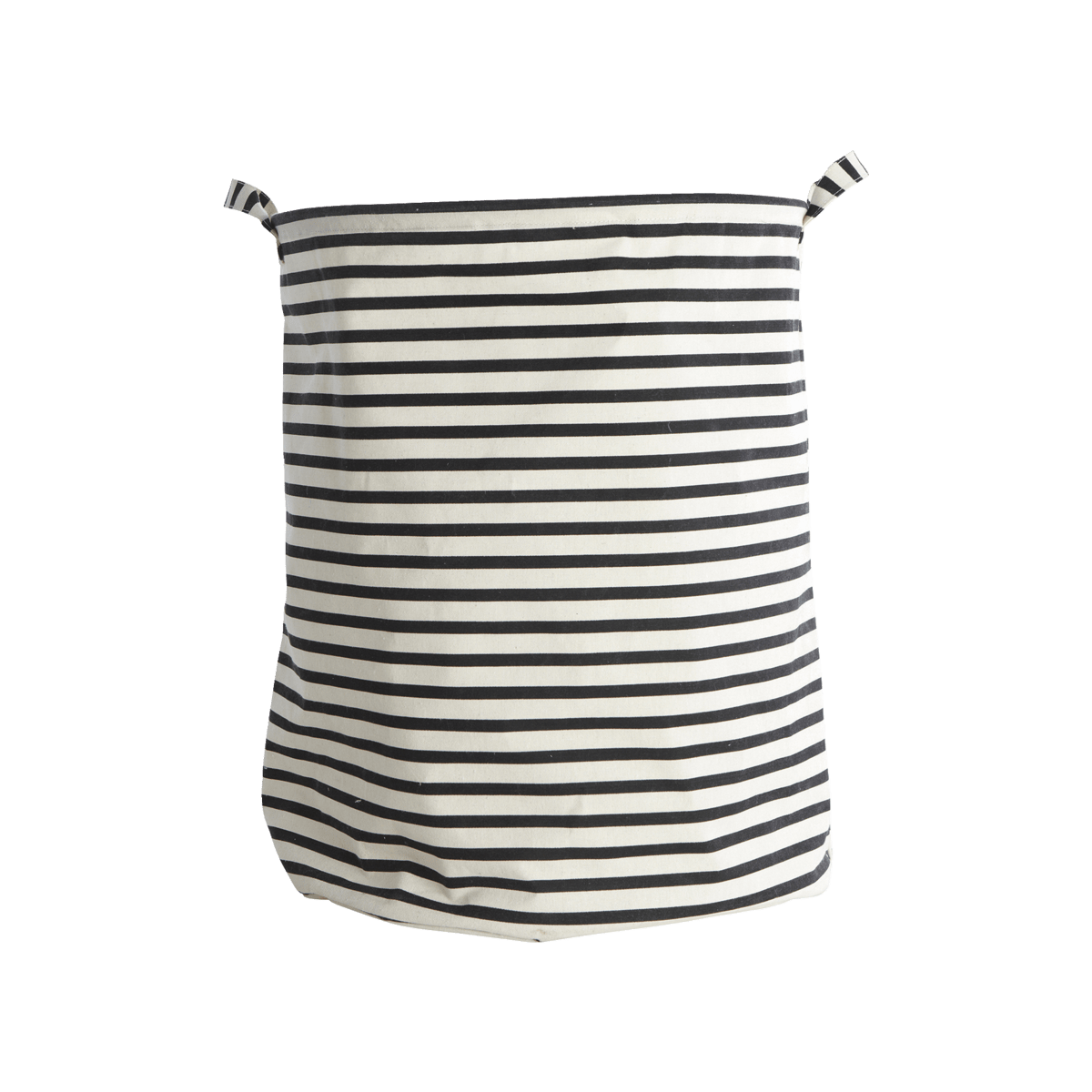 Černobílý pytel na prádlo Stripes