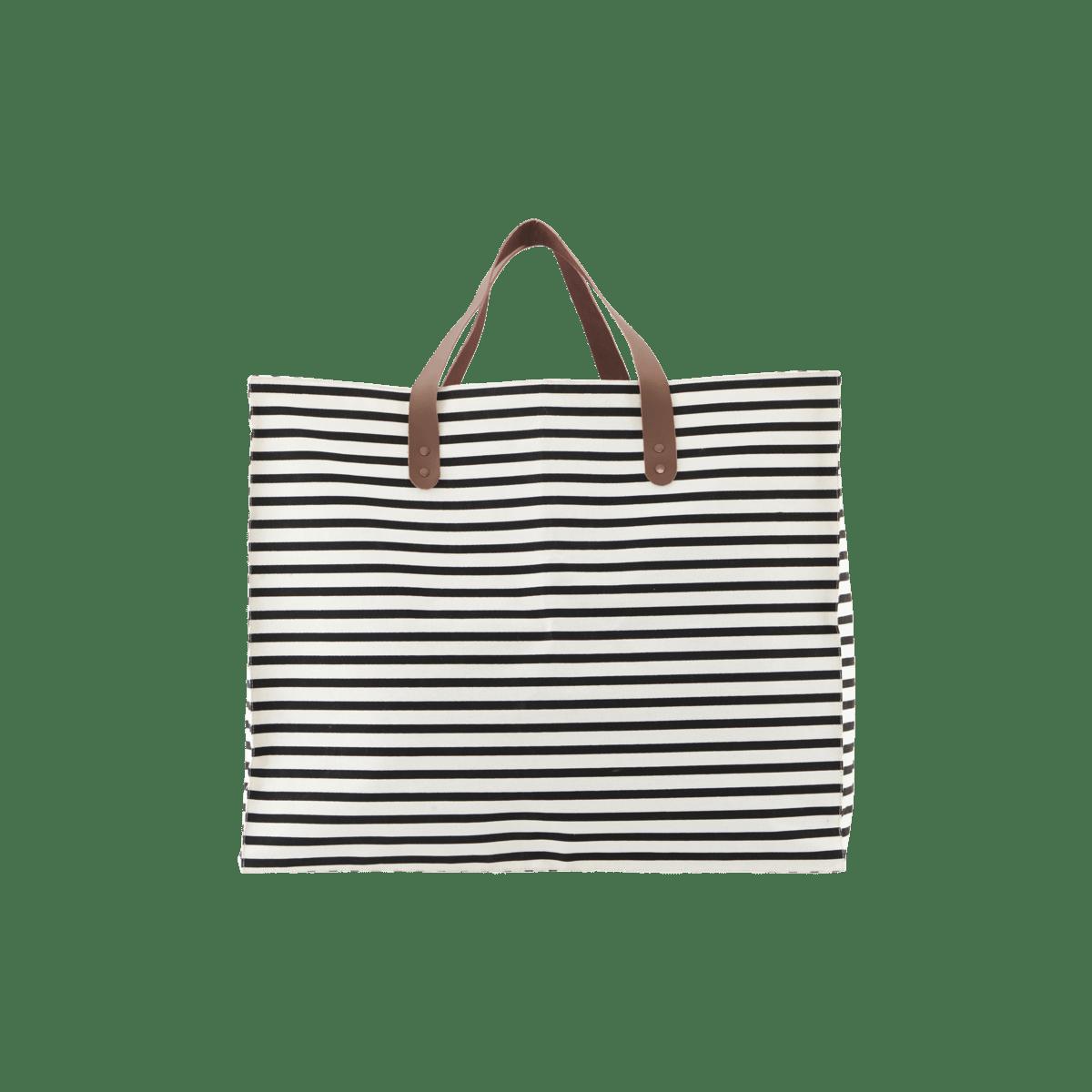 Sada 4 ks − Bílá úložná taška Stripes