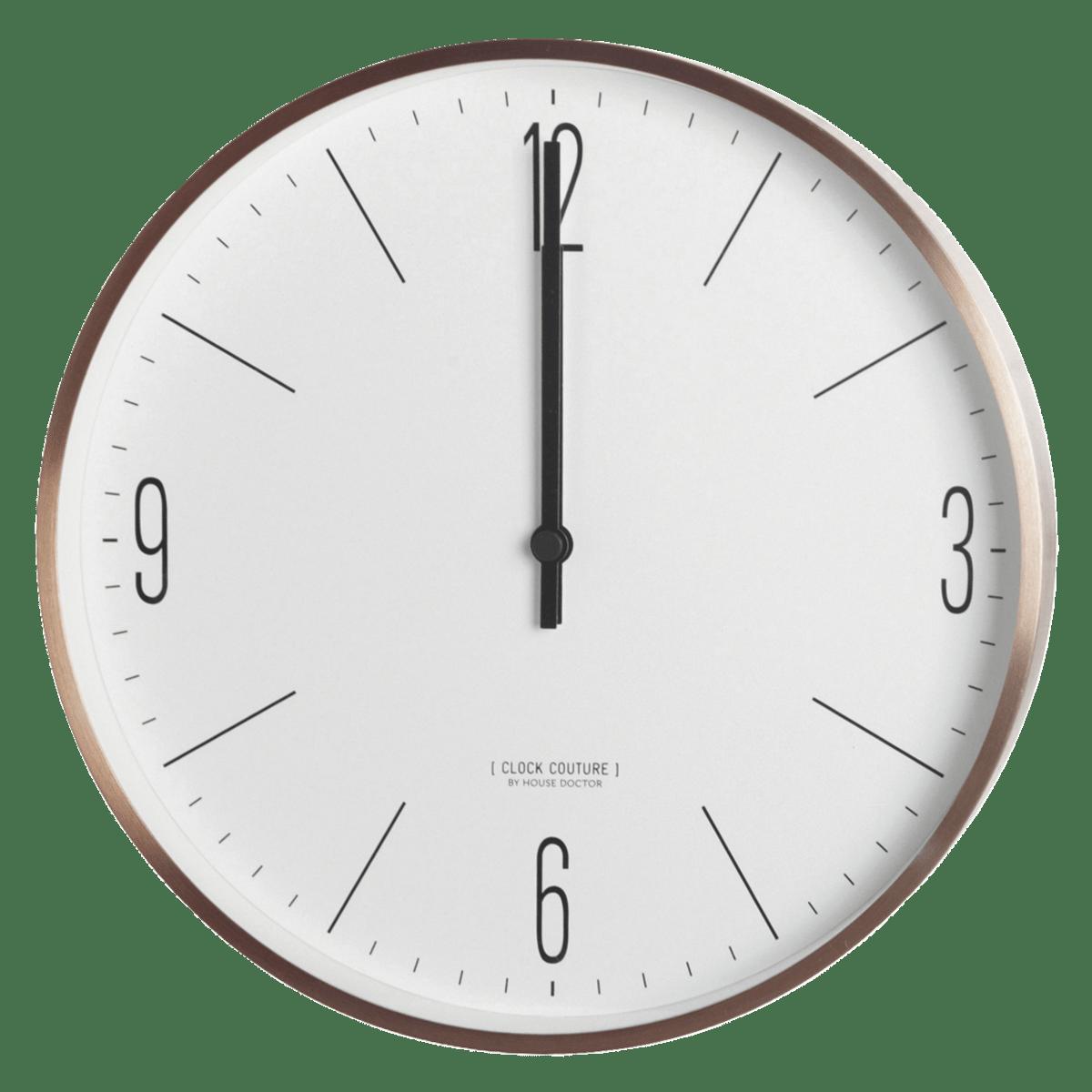 Nástěnné hodiny Clock Couture