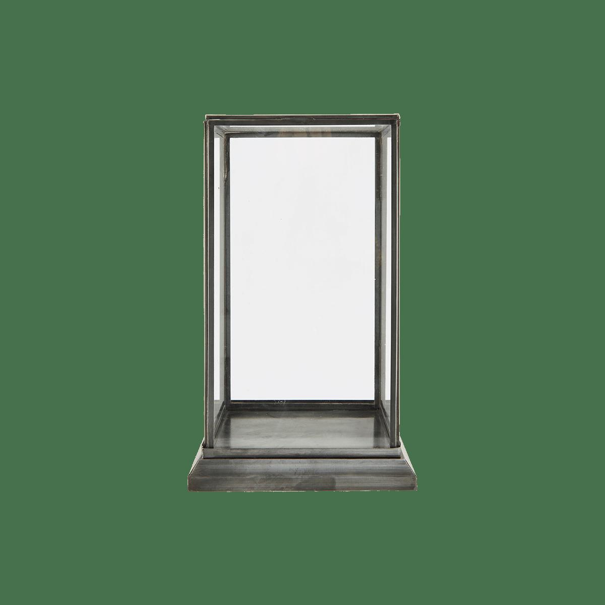 Skleněná vitrína 19x19 cm