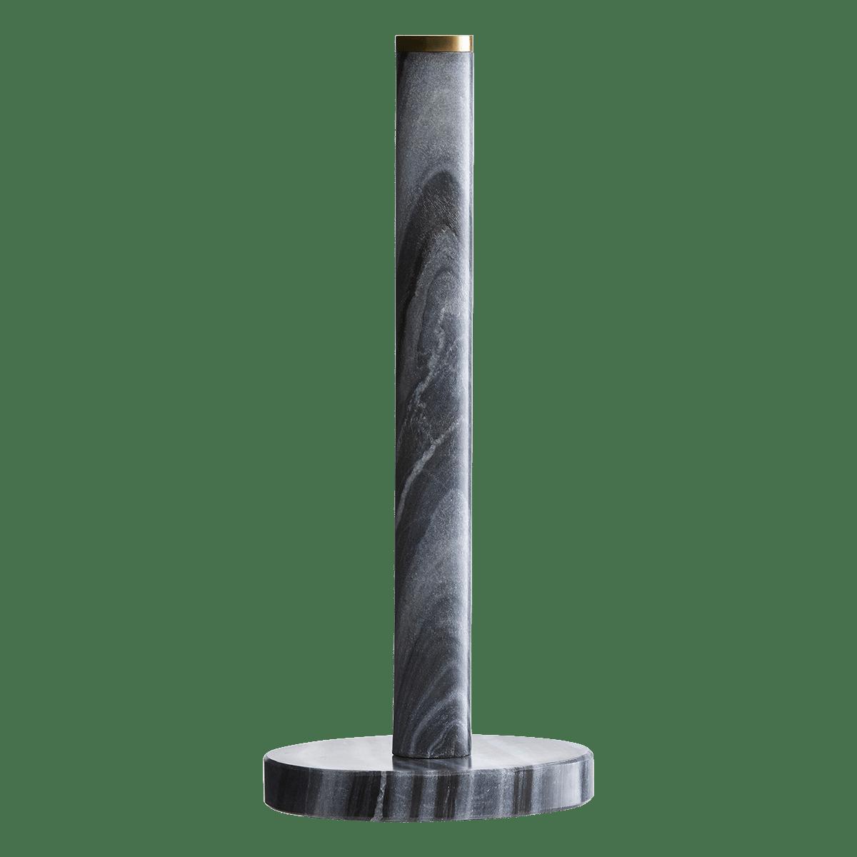 Stojan na papírové útěrky Black marble