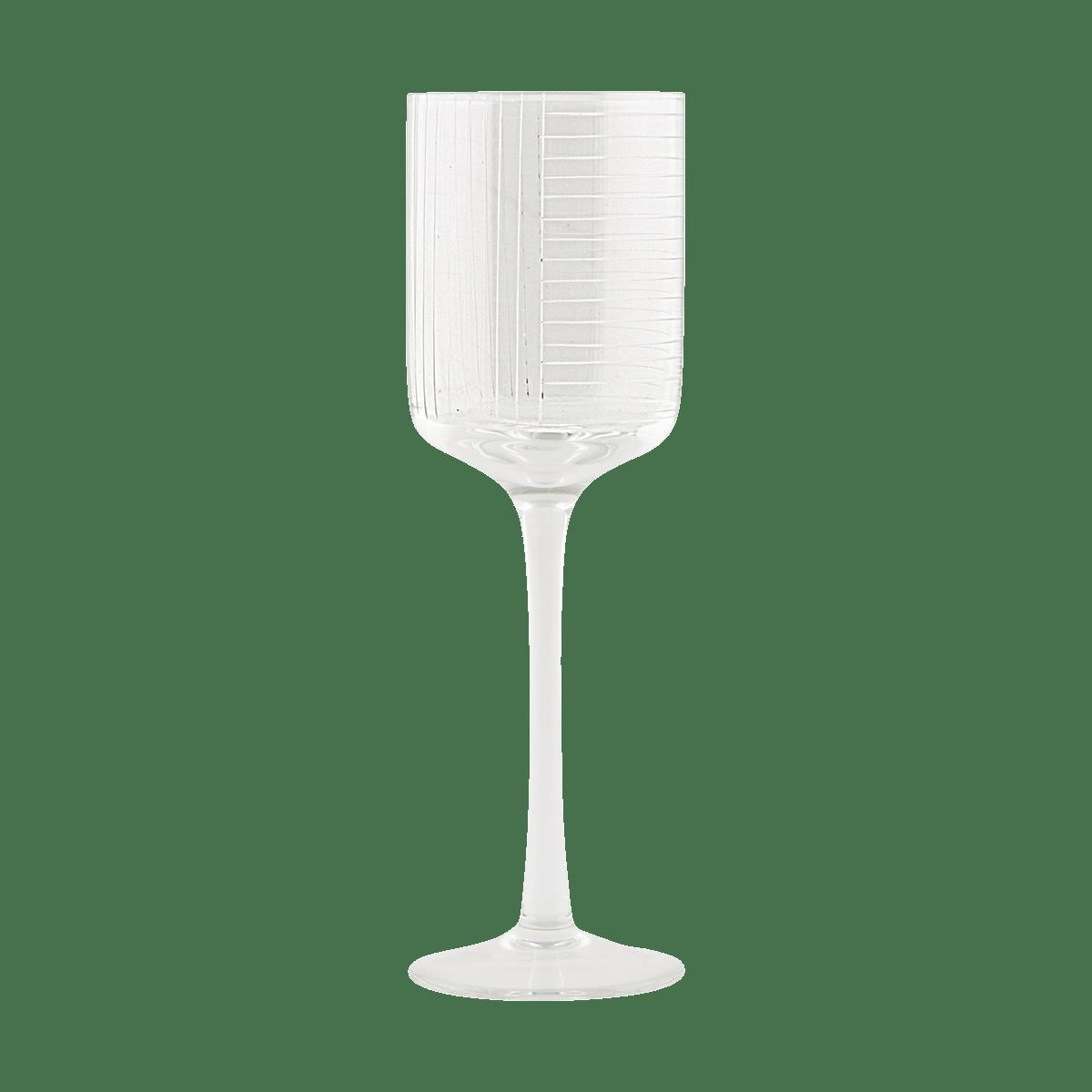 Sklenička na bílé víno Check