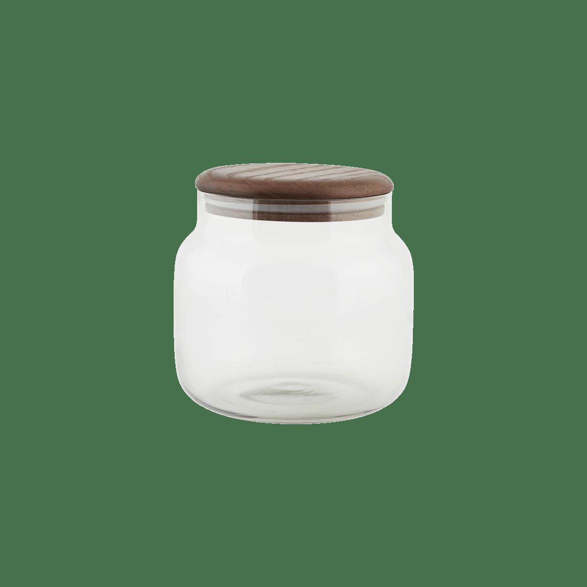 Úložná sklenice Oak