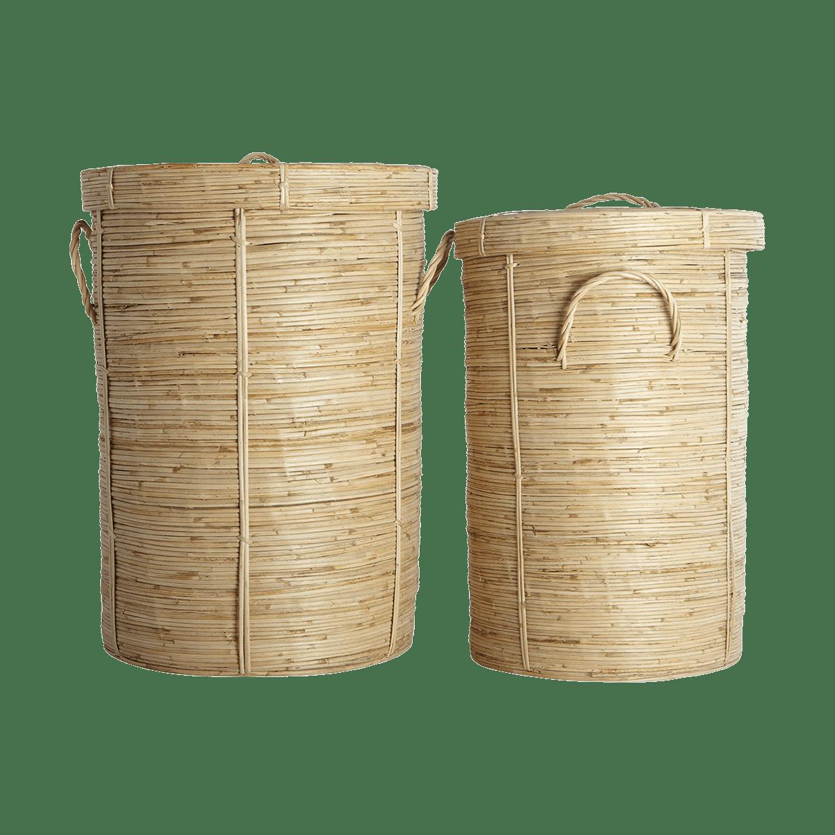 Koše na prádlo Chaka – sada 2 kusů